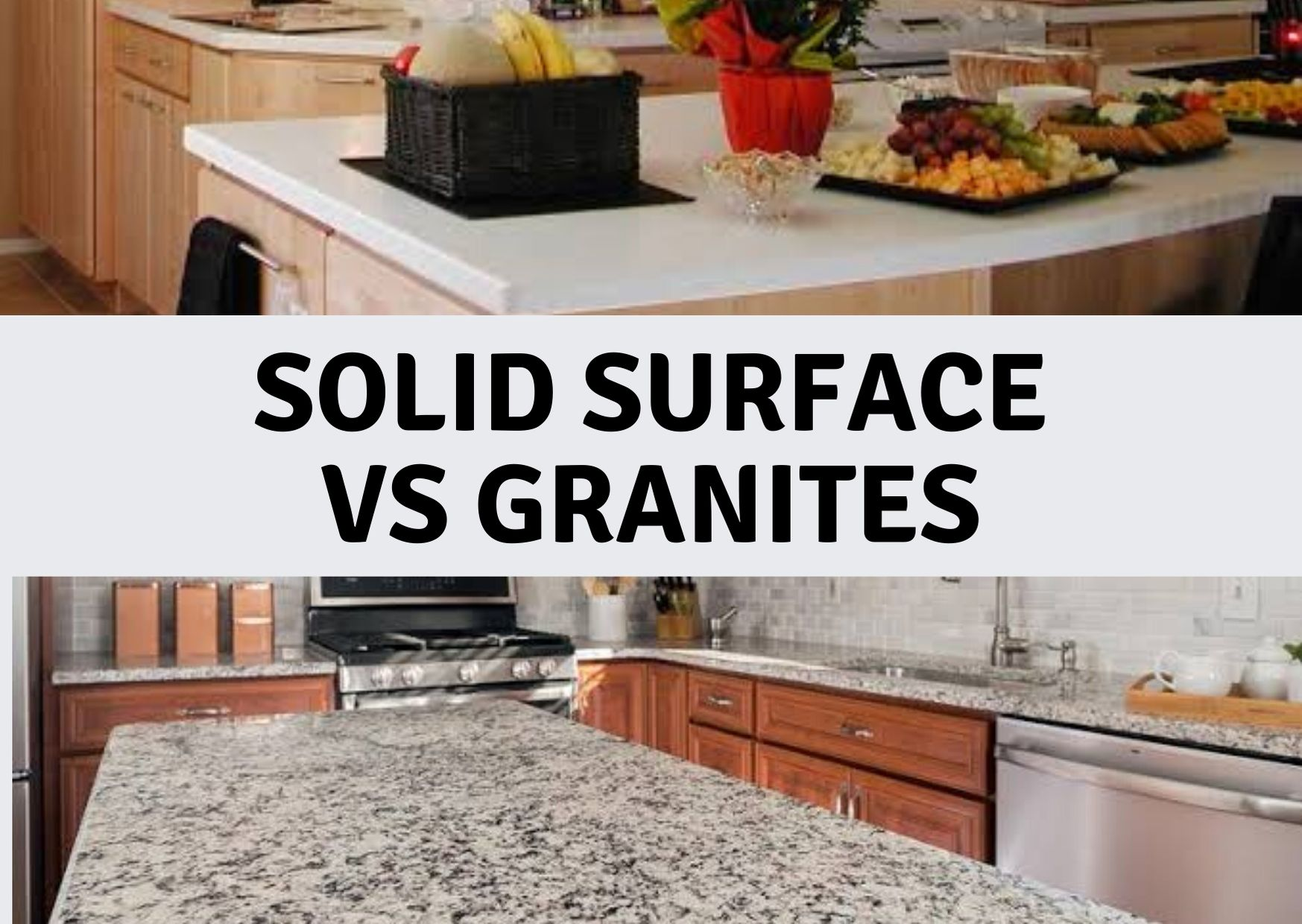 Solid Surface vs Granites- Advantages & Disadvantages