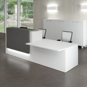 What kind of reception tables should we buy for a corporate office? Types of office counter tables and benefits?